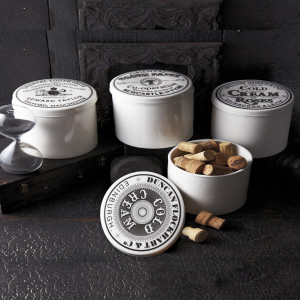 old fashioned toothpaste jars
