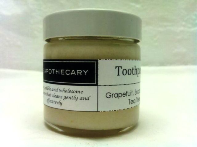 The Apothecary toothpaste